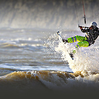 Kitesurfing Compton Bay Isle of Wight, White Air, Sandown, surf, kitesurf, Brook, Compton Bay, Yaverland Beach, People photography photograph canvas canvases