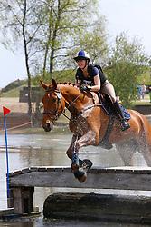 Poelmans Lorre, BEL, Camelot vh Strateneinde<br /> Nationale LRV-Eventingkampioenschap Ponies Minderhout 2017<br /> © Hippo Foto - Kris Van Steen<br /> 30/04/17