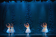 Bay Pointe Ballet performs the Nutcracker during a dress rehearsal at the San Mateo Performing Arts Center in San Mateo, California, on December 13, 2013. (Stan Olszewski/SOSKIphoto)