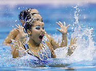 Japan JPN.Team Tecnical .London 2012 Olympic Synchronised Swimming Qualification Tournament.Photo G.Scala/Deepbluemedia/Wateringphoto..