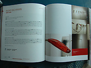 Catalogue of the 11th Havana Biennial, May 11, 2012. Ingrid Bachmann was one of three Canadian artists chosen by the Biennial. &quot;Pinocchio's Dilemma&quot; was shown at the Centro hispano-americano de Cultura until the end of the Biennial June 11, 2012.<br /> <br /> http://www.bienalhabana.cult.cu/?secc=artistas_amp&amp;idArtista=94<br /> <br /> http://www.ingridbachmann.com/