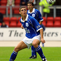 St Johnstone v Dundee Utd.... 11.8.01<br />Ross Forsyth<br /><br />Pic by Graeme Hart<br />Copyright Perthshire Picture Agency<br />Tel: 01738 623350 / 07990 594431