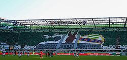 23.10.2016, Allianz Stadion, Wien, AUT, 1. FBL, SK Rapid Wien vs FK Austria Wien, 12 Runde, im Bild Choreographie Block West // during Austrian Football Bundesliga Match, 12th Round, between SK Rapid Vienna and FK Austria Wien at the Allianz Stadion, Vienna, Austria on 2016/10/23. EXPA Pictures © 2016, PhotoCredit: EXPA/ Thomas Haumer