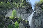 The Umbal Falls are waterfalls located at the upper section of the river Isel (where it is called Umbalbach) in the Umbal valley west of Hinterbichl. High Tauern National Park, Austria. | Wasserfall am Großbach. Die Umbalfälle sind Wasserfälle des Oberlaufs der Isel (dort noch Umbalbach genannt) im Umbaltal westlich von Hinterbichl im Nationalpark Hohe Tauern in Österreich.