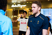 Tottenham Hotspur F.C attended a Football Freestyler Challenge on 24 May 2017 at Time Square, HONG KONG.<br /> Photo by MozImages.