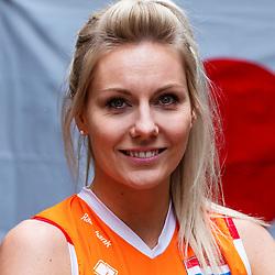 13-10-2018 JPN: World Championship Volleyball Women day 14, Nagoya<br /> Portraits Dutch Volleybal Team - Laura Dijkema #14 of Netherlands