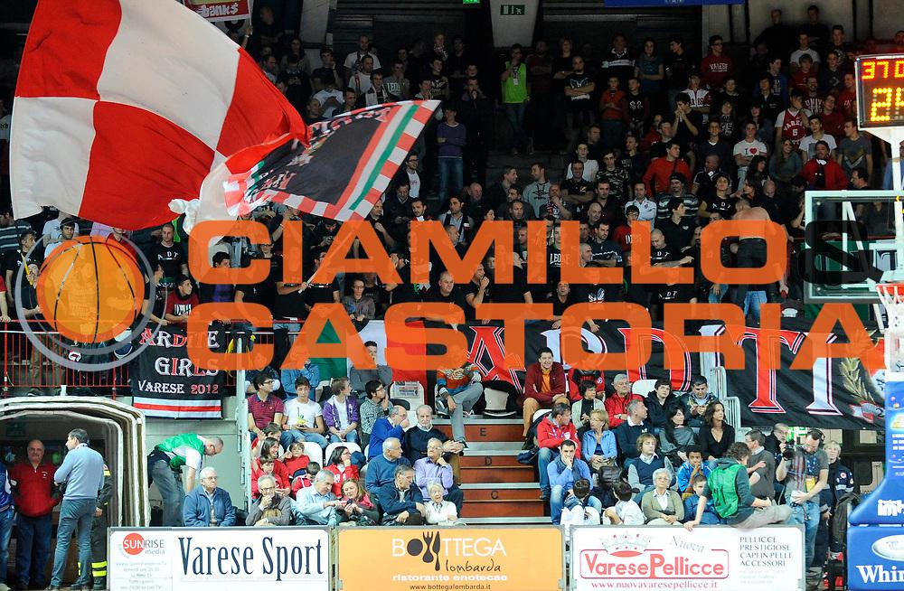 DESCRIZIONE : Varese Lega A 2012-13 Cimberio Varese Trenkwalder Reggio Emilia<br /> GIOCATORE : <br /> SQUADRA : Cimberio Varese<br /> EVENTO : Campionato Lega A 2012-2013<br /> GARA : Cimberio Varese Trenkwalder Reggio Emilia<br /> DATA : 25/11/2012<br /> CATEGORIA : Tifosi Supporters<br /> SPORT : Pallacanestro<br /> AUTORE : Agenzia Ciamillo-Castoria/A.Giberti<br /> Galleria : Lega Basket A 2012-2013<br /> Fotonotizia : Varese Lega A 2012-13 Cimberio Varese Trenkwalder Reggio Emilia<br /> Predefinita :