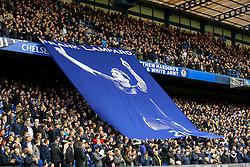 Chelseas Frank Lampard banner is shown before kick off - Mandatory by-line: Jason Brown/JMP - 04/01/2017 - FOOTBALL - Stamford Bridge - London, England - Chelsea v Arsenal - Premier League