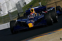 Alex Barron at Infineon Raceway, Argent Mortgage Indy Grand Prix, August 28, 2005