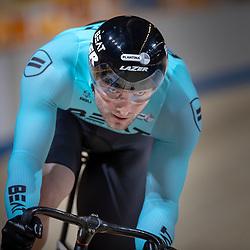 27-12-2018: Wielrennen: NK Baan: Apeldoorn <br />Mathijs Buchli tijd snelste in de kwalificatie NK Sprint
