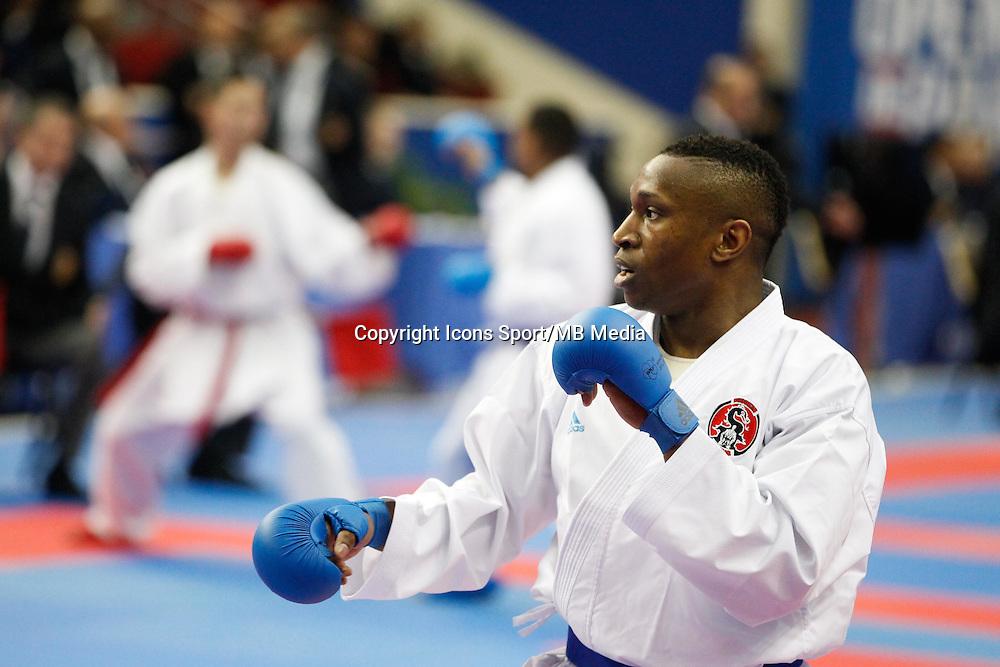 Davy DONA - 24.01.2015 - Open de Paris - Karate Premier League -<br />Photo : Johnny Fidelin / Icon Sport