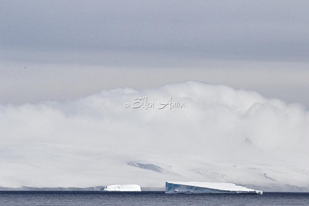 tabular iceberg, Antarctic