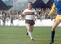 Syd Patterson, footballer, Glentoran FC, Belfast, N Ireland, August, 1969, 196908000224<br /> <br /> Copyright Image from<br /> Victor Patterson<br /> 54 Dorchester Park<br /> Belfast, N Ireland, UK, <br /> BT9 6RJ<br /> <br /> t1: +44 28 90661296<br /> t2: +44 28 90022446<br /> m: +44 7802 353836<br /> e1: victorpatterson@me.com<br /> e2: victorpatterson@gmail.com<br /> <br /> www.victorpatterson.com