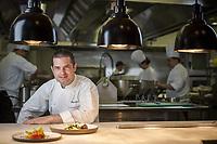 Etienne Karner, Head Chef at the Hyatt Sydney.