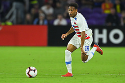 March 21, 2019 - Orlando, Florida, USA - US midfielder Jonathan Lewis (18) during an international friendly between the US and Ecuador at Orlando City Stadium on March 21, 2019 in Orlando, Florida. .The US won the game 1-0...©2019 Scott A. Miller. (Credit Image: © Scott A. Miller/ZUMA Wire)