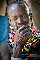 Mother of Turkana. Kakuma, Kenya. 2011