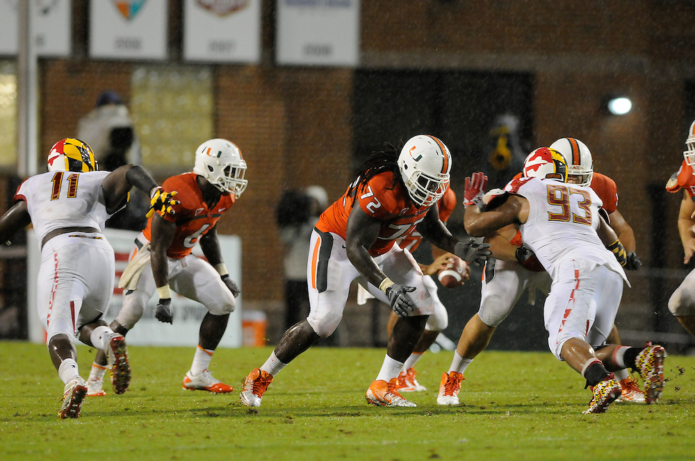 2011 Miami Hurricanes Football @ Maryland<br /> <br /> Brandon Washington