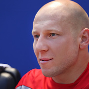 Brad Guzan, USA, during the US Men's National Team Vs Turkey friendly match at Red Bull Arena.  The game was part of the USA teams three-game send-off series in preparation for the 2014 FIFA World Cup in Brazil. Red Bull Arena, Harrison, New Jersey. USA. 1st June 2014. Photo Tim Clayton