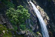 Frecha da Mizarela waterfall, one of the highest waterfalls of Europe.