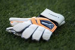 September 20, 2018 - Vila-Real, Castellon, Spain - Sergio Asenjo of Villarreal CF gloves on the pitch during the UEFA Europa League group G match between Villarreal CF and Rangers at Estadio de la Ceramica on September 20, 2018 in Vila-real, Spain  (Credit Image: © David Aliaga/NurPhoto/ZUMA Press)