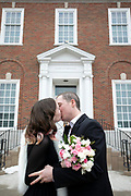 Travis and Katie get married at the historic Independence courthouse in Independence, Mo, March 1, 2019. Photos by Colin E. Braley