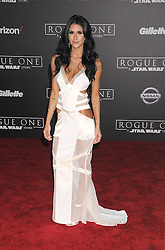 December 10, 2016 - Los Angeles, California, United States - December 10th 2016 - Los Angeles California USA - Actress BRITTANY FURLAN  at the World Premiere for ''Rogue One Star Wars'' held at the Pantages Theater, Hollywood, Los Angeles  CA (Credit Image: © Paul Fenton via ZUMA Wire)
