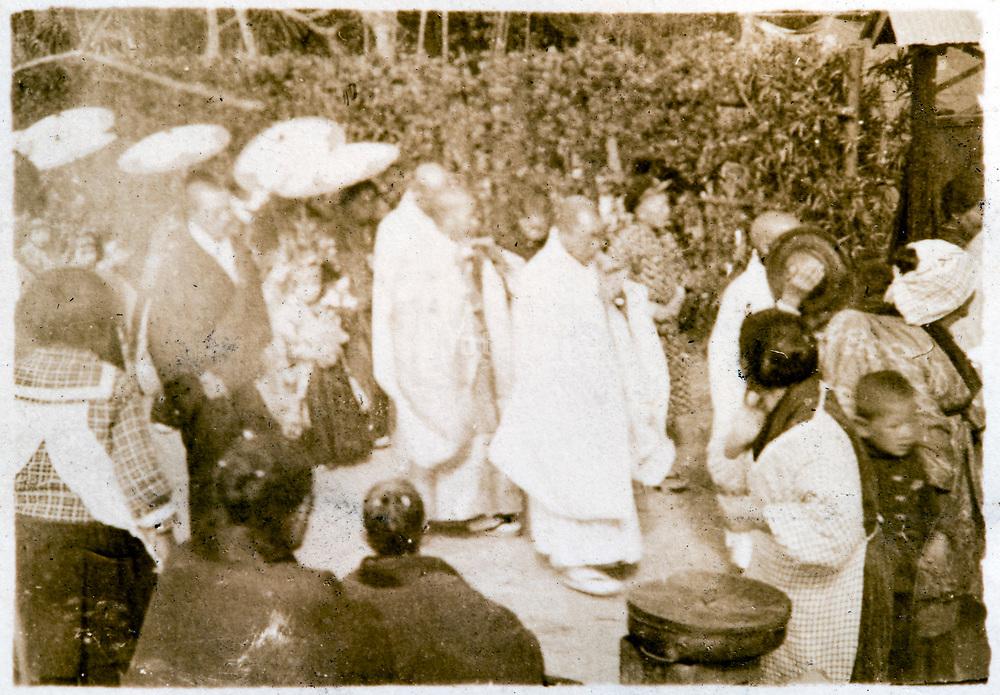 religious procession Japan ca 1930s