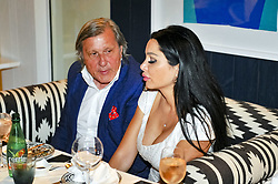 July 22, 2017 - France - Ilie Nastase en compagnie de sa femme Brigitte (Credit Image: © Panoramic via ZUMA Press)