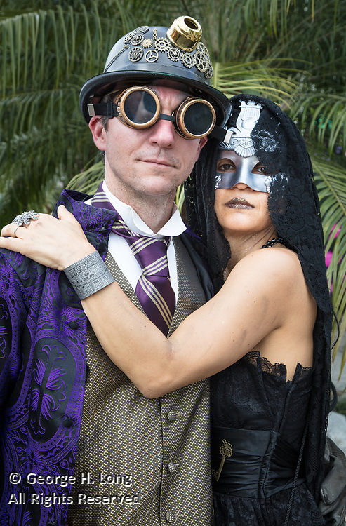 Tim and Anamaria Lupin at Mardi Gras in New Orleans 2017