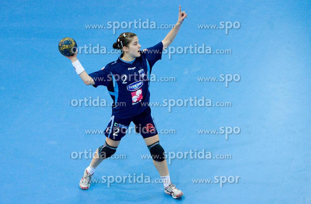 Alja Jankovic of Slovenia at Women European Championships Qualifying handball match between National Teams of Slovenia and Belarus, on October 17, 2009, in Kodeljevo, Ljubljana.  (Photo by Vid Ponikvar / Sportida)