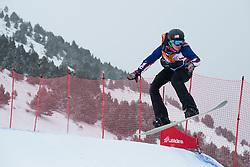 HUCKABY Brenna, Snowboarder Cross, 2015 IPC Snowboarding World Championships, La Molina, Spain