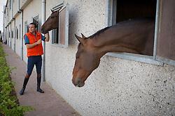 Bluman Daniel (COL)<br /> Ecuries de Wisbecq - Rebecq 2013<br /> © Dirk Caremans