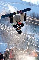 The Arctic Challenge/Halfpipe - FINALS/Tromsø/31032004:<br /> Ross Powers - USA<br /> FOTO: KAJA BAARDSEN/DIGITALSPORT
