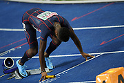 Meba-Mickael Zeze competes in men relay 4x100m during the European Championships 2018, at Olympic Stadium in Berlin, Germany, Day 6, on August 12, 2018 - Photo Philippe Millereau / KMSP / ProSportsImages / DPPI