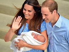 Duchess of Cambridge taken to Hospital - 23 April 2018