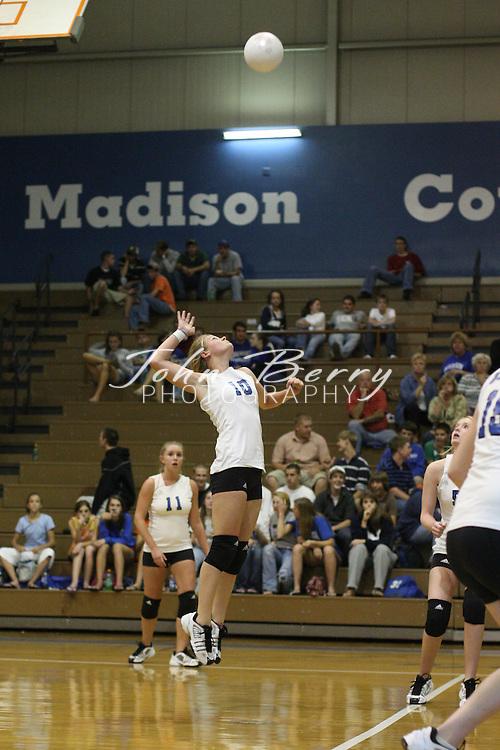 MCHS Varsity Volleyball .vs Clarke.10/17/2007..