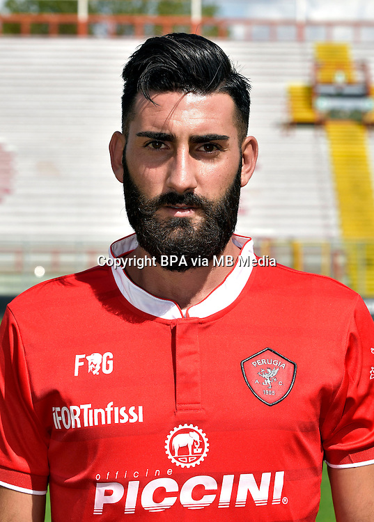 Italian League Serie B_2015-2016 / <br /> ( AC Perugia 1905 ) - <br /> Nicola Belmonte