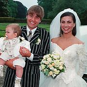 Huwelijk Rob Witschge en Barbara van den Boogaard in kasteel Haarzuilen,