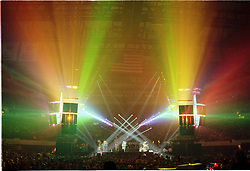 "The Grateful Dead and Candace's Big Lights Show in Concert at the Nassau Coliseum, Uniondale NY, 30 March 1990. During ""Space"""