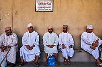 Sultanat d'Oman, gouvernorat de Ad-Dakhiliyah, Nizwa, le vieux souk // Sultanate of Oman, Ad-Dakhiliyah Region, Nizwa, the old souq