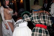 ALEKSSANDRA CECILIATO, Svletlana and Jawek's Asylum seekers arranged marriage valentines party. Home House. 12 February 2010