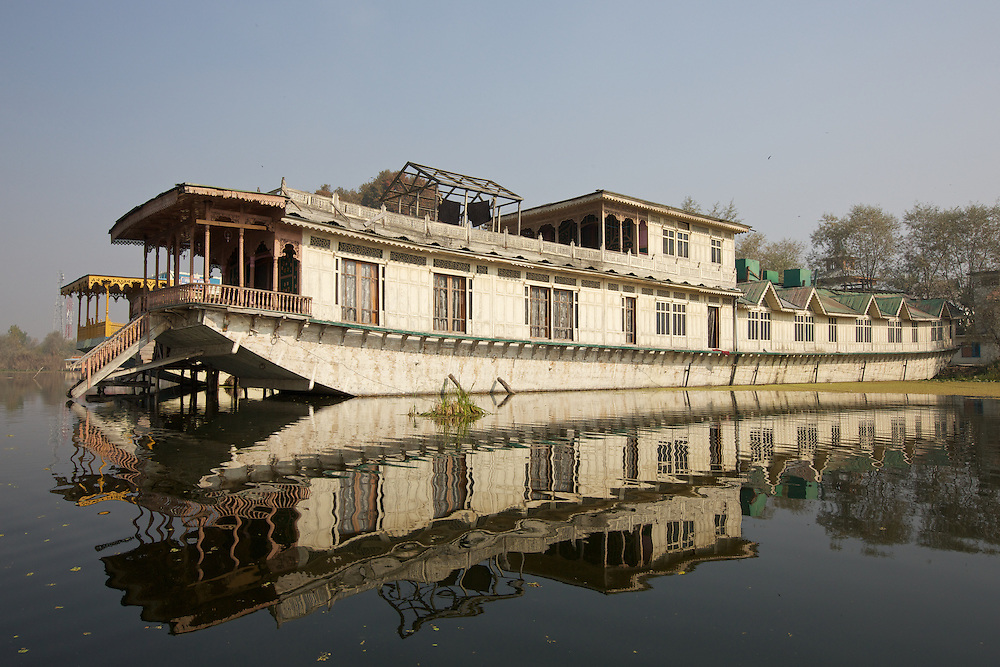 Dal Lake Srinagar, Kashmir, India Houseboats