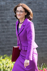 Downing Street, London, April 12th 2016. Northern Ireland Secretary Theresa Villiers arrives at the weekly cabinet meeting. &copy;Paul Davey<br /> FOR LICENCING CONTACT: Paul Davey +44 (0) 7966 016 296 paul@pauldaveycreative.co.uk