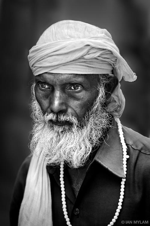 Street portrait - Old Delhi, India