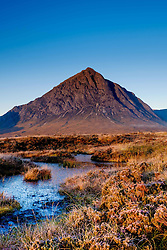 Buachaille Etive Mor at dawn, Highlands of Scotland<br /> <br /> (c) Andrew Wilson | Edinburgh Elite media