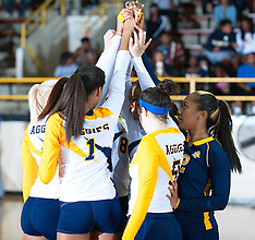 2014 A&T Volleyball vs UMES & UNC-Greensboro (Aggie-Spartan Invite)