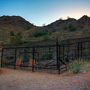 Burial site along the Goldmine Trail - San Tan Regional Park, Queen Creek, AZ