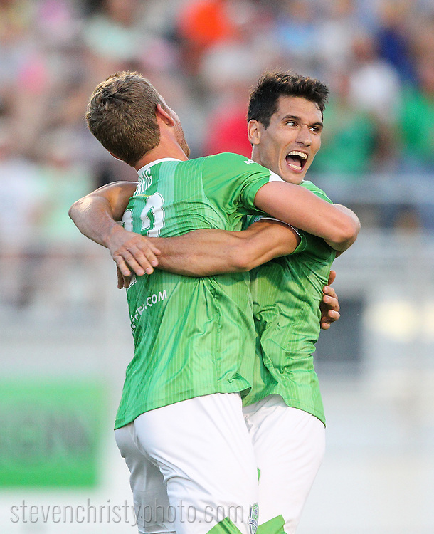 May 31, 2015: The OKC Energy FC plays the Austin Aztex in a USL game at Taft Stadium in Oklahoma City, Oklahoma.