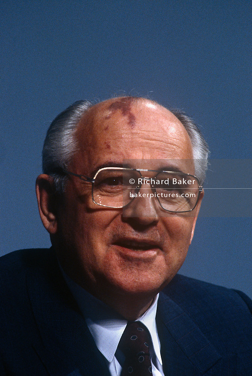Former Soviet leader, Mikhail Gorbachev attending the G7 summit on 17th July 1991 in London, England. Mikhail Sergeyevich Gorbachev is a former Soviet statesman. He was the eighth and last leader of the Soviet Union, having been General Secretary of the Communist Party of the Soviet Union from 1985 until 1991, when the party was dissolved.