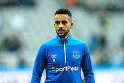 Theo Walcott (#11) of Everton warms up ahead of the Premier League match between Newcastle United and Everton at St. James's Park, Newcastle, England on 9 March 2019.